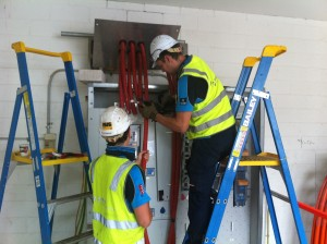 Fire Stop Mains and Switchboard